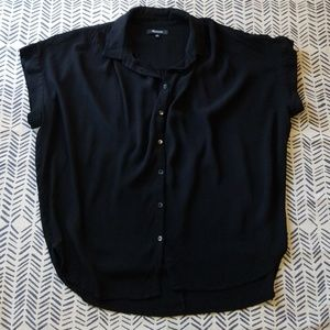 Madewell Loose Fitting Button Down